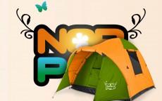 Campingticket, per persoon/per nacht